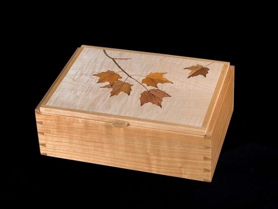 Maple Leaf Treasure Box Craig Altobello Marquetry